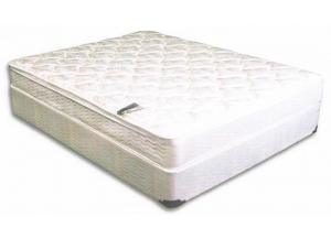 QUEEN GRANDOVER PILLOW TOP MATTRESS AND BASE