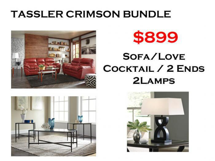Bundle Tler Crimson Sofa Love Cafe Coffee 2 Ends Lamps Brandywine