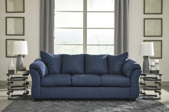 Darcy Royal Blue Sofa,Brandywine Showcase