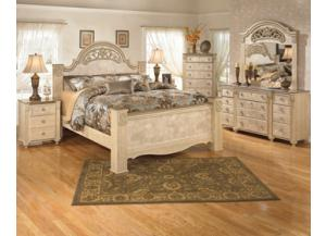 Saveaha Queen Storage Bed Dresser/Mirror