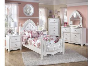 Exquisite D/M Twin Bed