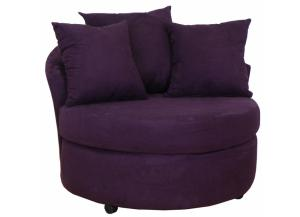 Swivel Chair Buldozer EggPlant