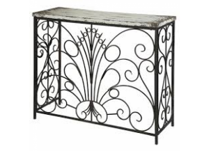 Parcel Antique White Console Table