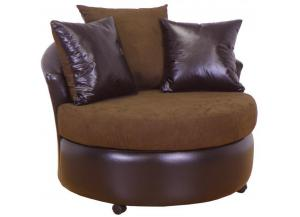 Swivel Chair Buldzr JAVA/Sanmar Choc