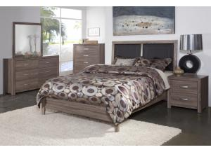 District 7 Ash 5 Piece Bedroom,Brandywine Showcase