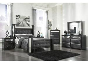 Alamadyre Queen Poster bed Dresser/Mirror