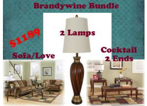 BUNDLE/ Sofa / Love / Cocktail / 2Ends / 2Lamps