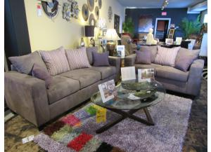 Chocolate Twister Festival Sofa/Love,Brandywine Showcase