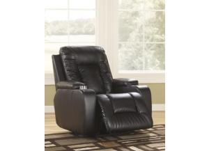 Matinee Durablend Power Recliner W/Cup Holders
