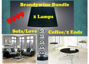 BUNDLE / Sofa / Love / Cocktail 2Ends / 2Lamps