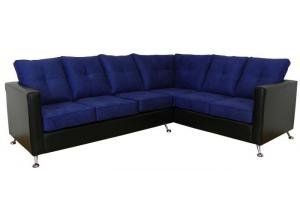 2PC Sectional Mission Cobalt